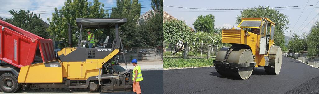 Utilaje de asfaltare